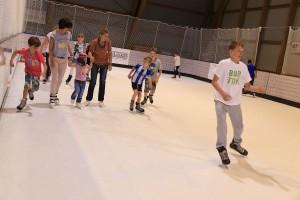 Eislaufangebot auch im Sommer